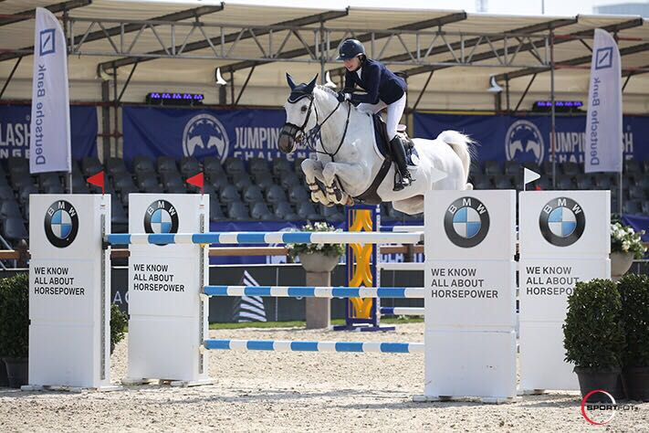 Claire and Fabelle 8th in GP CSI** Antwerp